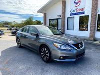 2018 Nissan Altima SV comes with 17-inch alloy wheels,