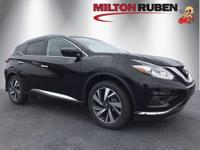 This 2018 Nissan Murano 4dr FWD Platinum features a