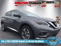 This 2018 Nissan Murano 4dr FWD SV features a 3.5L V6