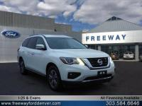 Gray Metallic 2018 Nissan Pathfinder SV 4WD CVT with