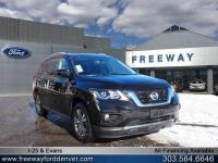 Magnetic Black 2018 Nissan Pathfinder SV 4WD CVT with