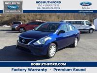 This front wheel drive used 2018 Nissan Versa Sedan SV