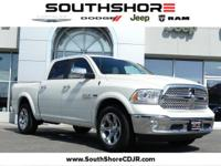 CARFAX One-Owner. 2018 Ram 1500 Laramie Pearl White