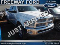Bright White Clearcoat 2018 Ram 3500 Laramie 4WD
