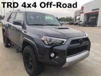 2018 Toyota 4Runner in Gray exterior and Black Gr