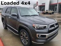 2018 Toyota 4Runner in Gray exterior and Blk/Redw