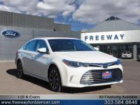 Blizzard Pearl 2018 Toyota Avalon XLE Plus FWD 6-Speed