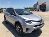 2018 Toyota RAV4 in Silver Sky Metallic exterior and