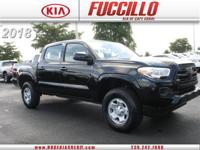 Check out this gently-used 2018 Toyota Tacoma we