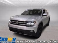 Check out this certified 2018 Volkswagen Atlas . Its
