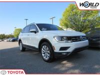 We are excited to offer this 2018 Volkswagen Tiguan.