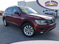 CARFAX One-Owner. 2018 Volkswagen Tiguan Cardinal Red