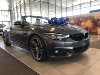 We are excited to offer this 2019 BMW 4 Series. The BMW