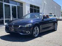CARFAX One-Owner. Clean CARFAX. Bl 2019 BMW 4 Series