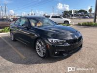 This 2019 BMW 4 Series 440i is proudly offered by BMW