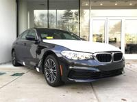 New Price! Dark Graphite Metallic 2019 BMW 5 Series