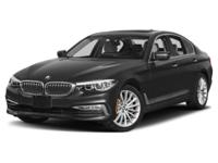 Delivers 33 Highway MPG and 23 City MPG! This BMW 5