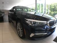 2019 BMW 5 Series 540i xDrive Blue 3.0L I6 Turbocharged