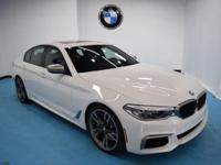 Recent Arrival! 2019 BMW 5 Series M550i xDrive Alpine