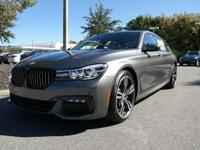 Delivers 29 Highway MPG and 21 City MPG! This BMW 7