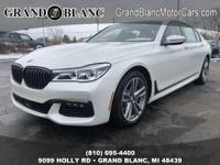 Recent Arrival!  Mineral White Metallic 2019 BMW 7
