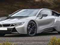 This BMW i8 boasts a Intercooled Turbo Gas/Electric I-3