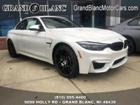 Recent Arrival!  Mineral White Metallic 2019 BMW M4 RWD