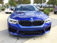2019 BMW M5  Options:  Power Front Seats|Extended