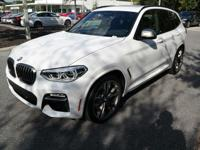 Scores 27 Highway MPG and 20 City MPG! This BMW X3