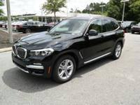 New Arrival! This 2019 BMW X3 sDrive30i will sell fast!
