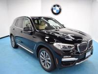 2019 BMW X3 xDrive30i Jet Black 8-Speed Automatic,