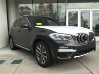 Dark Graphite Metallic 2019 BMW X3 xDrive30i AWD