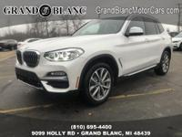 Recent Arrival!  Mineral White Metallic 2019 BMW X3