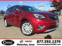 Chili Red Metallic 2019 Buick Envision Premium II AWD