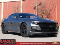 Satin Steel Gray Metallic 2019 Chevrolet Camaro SS 2SS