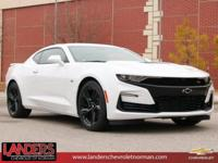 Summit White 2019 Chevrolet Camaro SS 2SS RWD 10-Speed