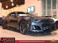 Shadow Gray Metallic 2019 Chevrolet Camaro ZL1 RWD