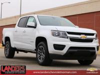 Summit White 2019 Chevrolet Colorado Work Truck RWD