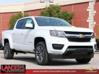 Summit White 2019 Chevrolet Colorado Work Truck 4WD
