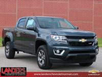 Shadow Gray Metallic 2019 Chevrolet Colorado Z71 4WD