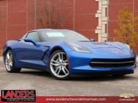 Elkhart Lake Blue Metallic 2019 Chevrolet Corvette