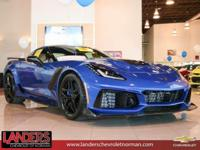 Elkhart Lake Blue Metallic 2019 Chevrolet Corvette ZR1