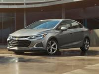 Blue Metallic 2019 Chevrolet Cruze LT FWD 6-Speed