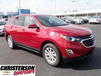 Recent Arrival! 2019 Chevrolet Equinox LT 1LT Red