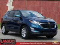 Pacific Blue Metallic 2019 Chevrolet Equinox LT 1LT FWD