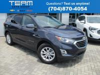 2019 Chevrolet Equinox LT 1LT First Oil Change Free,