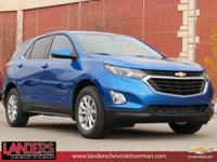 Kinetic Blue Metallic 2019 Chevrolet Equinox LT 1LT FWD