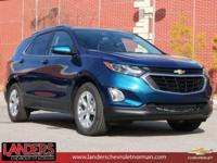 Pacific Blue Metallic 2019 Chevrolet Equinox LT 2LT FWD