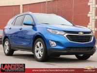 Kinetic Blue Metallic 2019 Chevrolet Equinox LT 2LT FWD