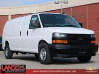 Summit White 2019 Chevrolet Express 3500 Work Van Cargo